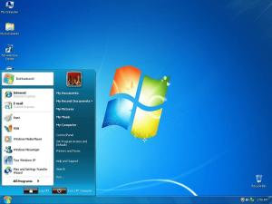 Giao diện windows 7