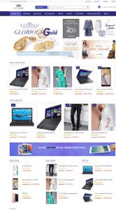 Một web bán hàng được rao bán